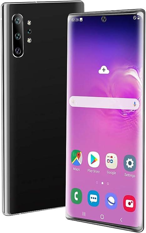 Teléfono móvil, Libre de SIM Smartphone Desbloqueado, Android 9.1, 6.5 Pulgadas de Pantalla de la batería 4800mAh ...