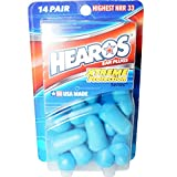 HEAROS Xtreme Protection Series Foam Ear Plugs, 14 Pair (Pack of 3)
