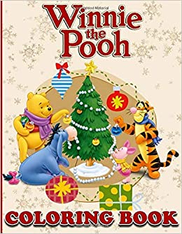 Amazon.com: Winnie the Pooh Coloring Book: Christmas Coloring Book ...
