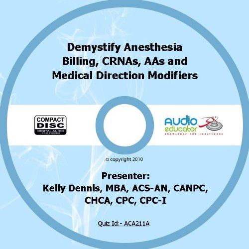 Demystify Anesthesia Billing Direction Modifiers product image