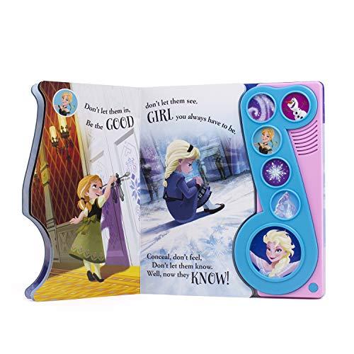 Frozen Let It Go Little Music Note Sound Book by Pl Kids (Image #2)