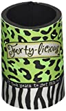 40th Birthday Forty-licious Can Cooler Koozie
