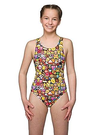 0b6cc29375949 Maru Icontastic Girls Swimsuit: Amazon.co.uk: Sports & Outdoors