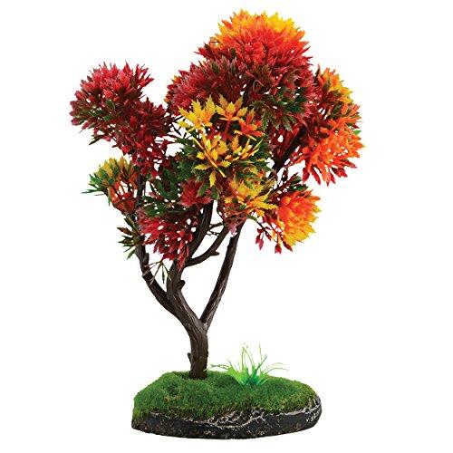 """Underwater Treasures Bonsai Red and Yellow Tree - 7.5"""""""