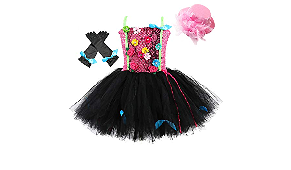 Rockstar Fabric Pink and Black Tutu for Costumes and Playtime Christmas Accessories for Last Minute Gift