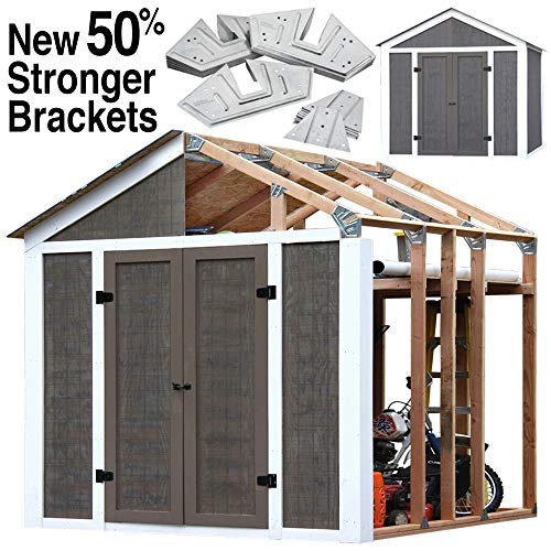 EZ Shed 70187 Peak Style Instant Framing - Storage Kit 8' Shed
