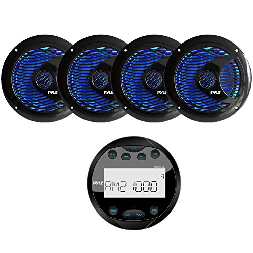 PLMR91U Waterproof Bluetooth Receiver Speakers