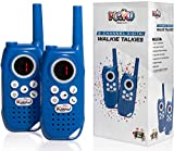 Playco Products Walkie Talkies for Kids - 2 Mile Range, Crystal Clear Sound, Flashlight, Belt Clip -...