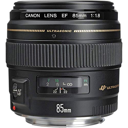 Canon EF 85mm f/1.8 USM Medium Telephoto Lens for Canon SLR Cameras - Fixed from Canon