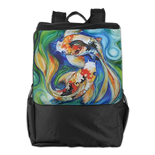 Strap Storage Shoulder For Fishes And Painting Travel Oil Backpack Women HSVCUY Personalized Camping Outdoors Dayback Men Adjustable School Bxv7nnPf