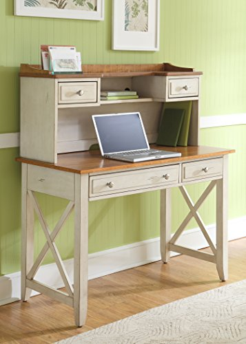 Hutch Pine Bedroom (Liberty Furniture 303-HO111 Ocean Isle Home Office Writing Desk, 44