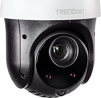 TRENDnet Indoor Outdoor 2MP 1080p PoE IR PTZ Speed Dome Network Camera, 20 x Optical Zoom, Auto-Focus, Auto-Iris, IP66 Housing, Night Vision Up to 100m 328 ft. , TV-IP440PI