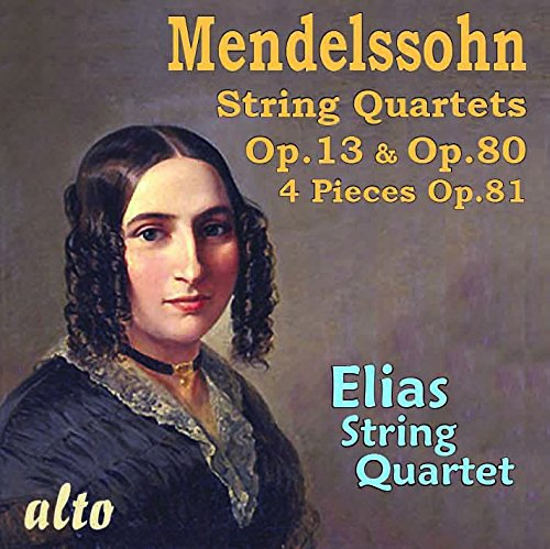 String Quartets Op. 13 Op.80 & 4 Pieces Op.81