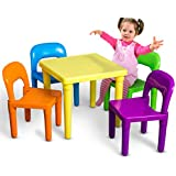 OxGord Kids Table and Chair (PLTC-01)