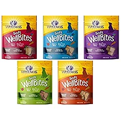 Wellness Wellbites Soft & Chewy Variety Pack (5 flavors, 6 ounce bags)