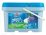 CLOROX Pool&Spa XtraBlue 3-Inch Long Lasting Chlorinating Tablets, 5-Pound Chlorine (4 Pack (5-Pound))