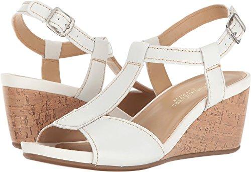 naturalizer white sandals - 4