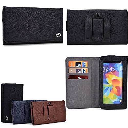 cellphone-holder-with-belt-loop-holster-card-slots-inserts-midnight-black-universal-fit-for-videocon