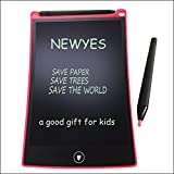 8.5 Inch LCD Writing Tablet NEWYES NYWT850 Digital Portable touch Pad Rugged drawing Tablet Fridge Planner Office Memo Boards for kids (Red)
