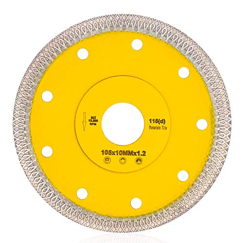 Supper Thin Diamond Porcelain Cutting Blade for Cutting Granite Marbles Tiles (4)