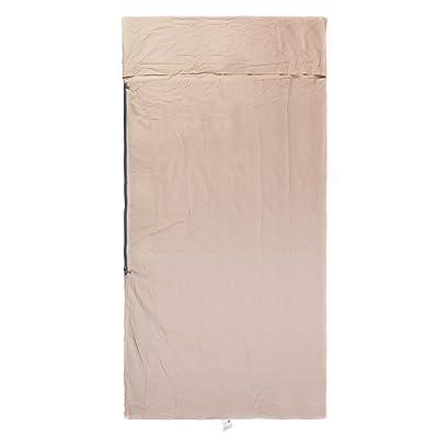 Sacs de couchage ultra légers portatifs hygiéniques de voyage extérieurs / draps de lit de coton, libres de piquer (double changement simple)