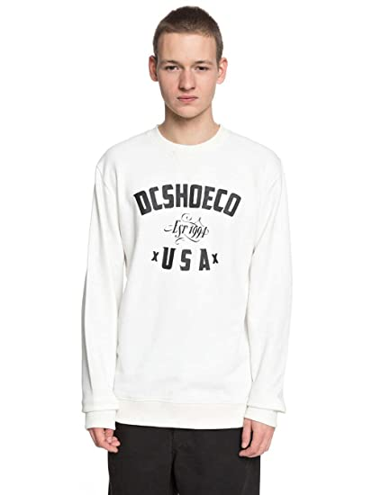 Shoes Dc Sweat Sweatshirt Sugihara Homme L Blanc iuOPkZXT