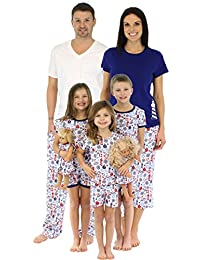 SleepytimePjs Family Matching Nautical Cotton Pajama Pjs Sets for the Family