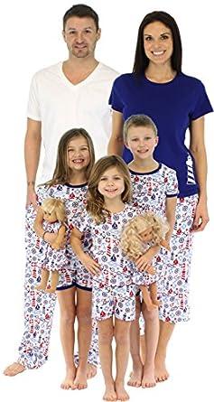 Amazon.com: SleepytimePjs Family Matching Nautical Cotton ...