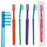 Oraline Compact Head Ortho V-Trim Pre-TeenToothbrush - 144 per Pack
