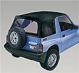 1991 geo tracker soft top - Rugged Ridge 53722.15 XHD Black Denim Replacement Soft Top