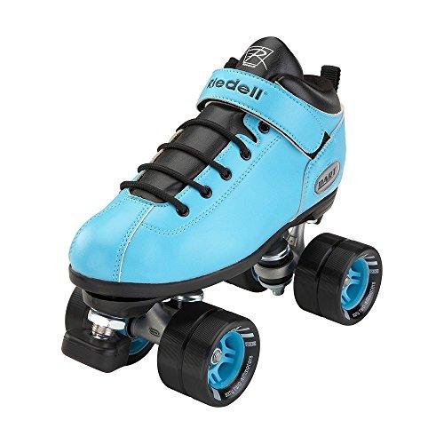 Riedell Skates Dart Roller Skate,Light Blue,6 ()