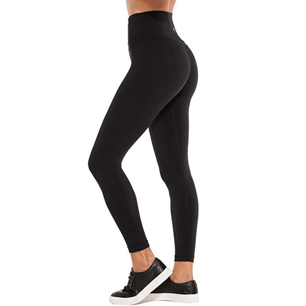 Women's High Waist And Tight Fitness Yoga Pants - Nude Hidden Pocket Yoga Pants,Sunsee 2019 Must Have