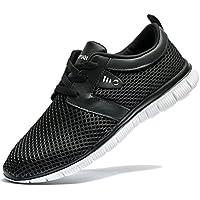 tianui–Zapatos de Senderismo Zapatos Moda transpirable zapatillas Casual Athletic ligero Deportes al aire última intervensión para hombre