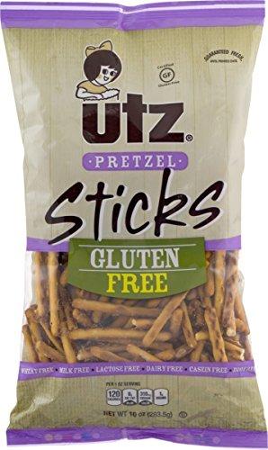 Utz Gluten Free Pretzel Sticks, Two 10-Ounce Bags