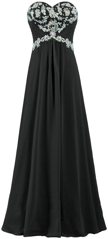 1729d64da89 Amazon.com  ANTS Women s Chiffon Evening Mother of The Bride Dress Long  Prom Gown  Clothing