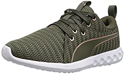 Puma Women's Carson 2 Metallic Wn, Olive Night-rose Gold, 6 M Us