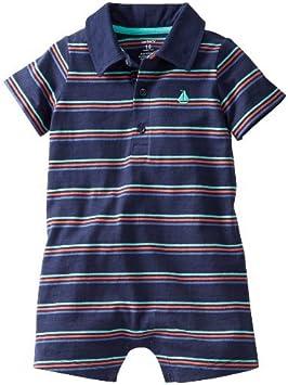 De Carter bebé niños de rayas Polo Body (Baby) – azul – 12 meses ...