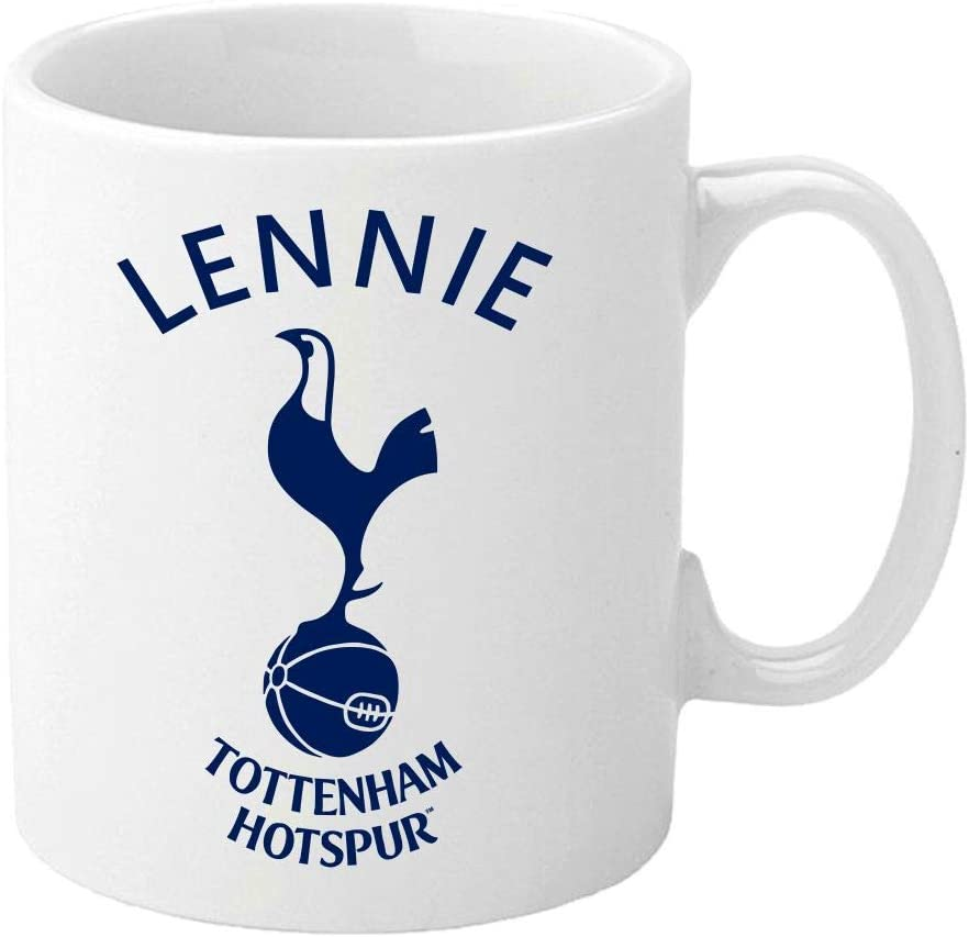 Personalised Tottenham Hotspur F C Mugs Printed White Ceramic Mugs Full Colour Customise With Name Unique Gift Present For Spurs Football Supporter Fan Amazon Co Uk Kitchen Home