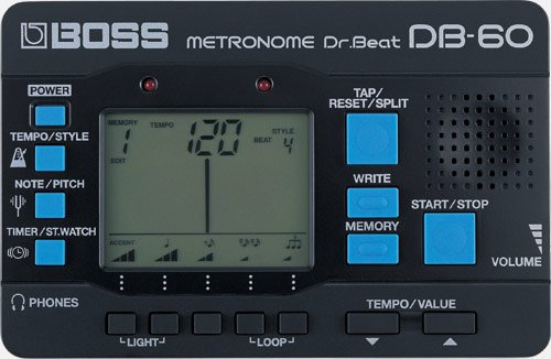 Boss Db-60 Dr. Beat Metronome by BOSS Audio by BOSS