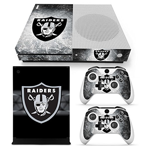 FriendlyTomato Xbox One S Console and Wireless Controller Skin Set - Football NFL - XboxOne S Vinyl