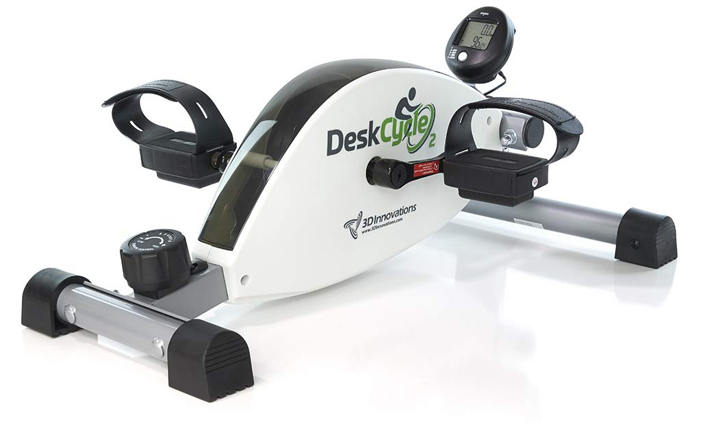 DeskCycle 2 Under Desk Exercise Bike and Pedal Exerciser by DeskCycle