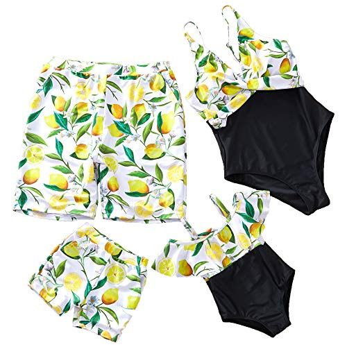 Family Look Clothes - Yaffi Family Matching Swimsuit Women Girl