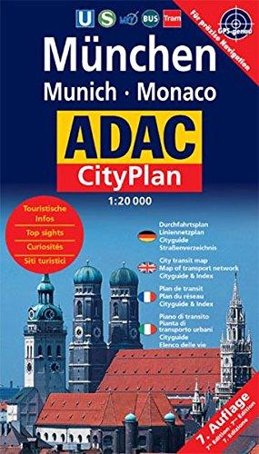 ADAC Stadtpläne, München, Cityplan (ADAC Citypläne)