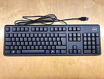 DELL KB212-B QUIETKEY - Keyboard - USB - Danish (QWERTY) - Black - FOR INSPIRON 17R 57XX; Latitude D630; OPTIPLEX 50XX; VOSTRO 200, 260; XPS 12 9250, ...