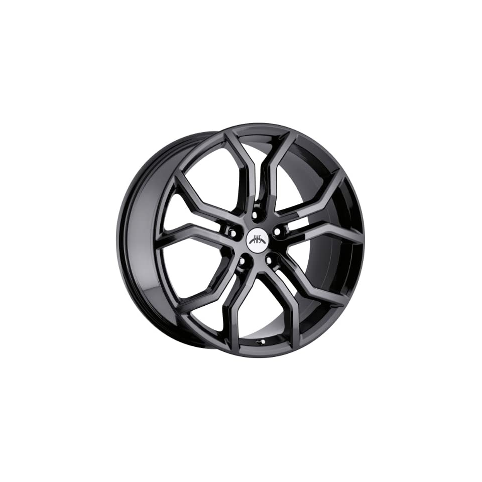 Vision Havoc 20 Black Chrome Wheel / Rim 5x120 with a 35mm Offset and a 71.5 Hub Bore. Partnumber WB42812PB35