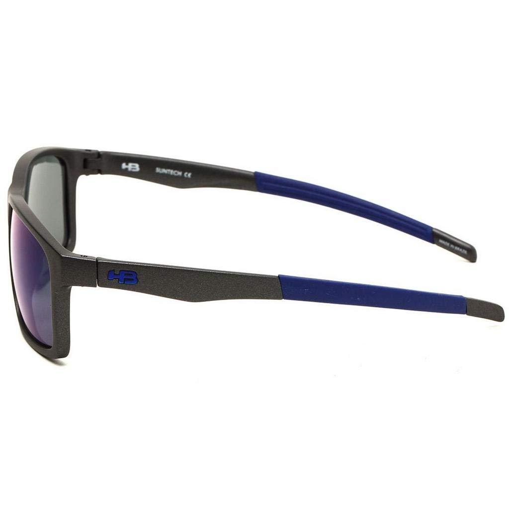 d9e84aec5940f Óculos de Sol Hb Mystify New Graphite I Blue Chrome  Amazon.com.br  Amazon  Moda