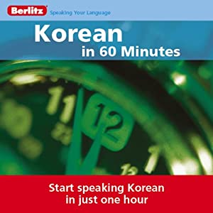 Korean...In 60 Minutes Audiobook