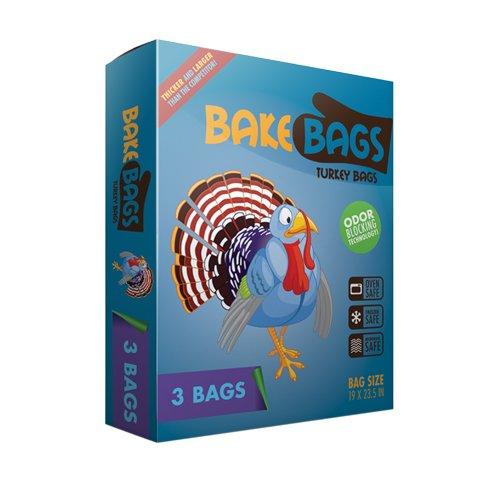 新しい再利用可能なトルコオーブンバッグバッグ(3パック) B005EMBFP8