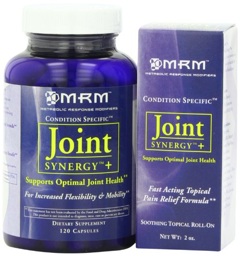 MRM Condition Specific Joint Synergy Plus Capsules and Soothing Topical Roll-On