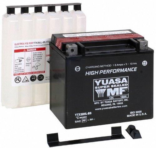 Yuasa YUAM620BH YTX20HL BS Battery product image